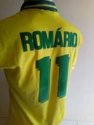 Camisa seleção brasileira 1994 #Romario