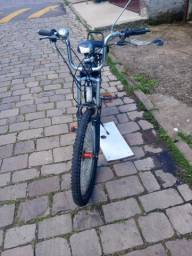 Troco motorizada por bike normal + celular bom