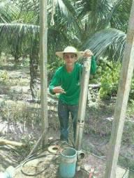 Instalação limpezas manutenção de poços