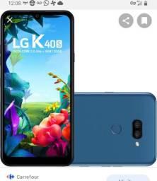 Troco celular lg k40s em outro superior e dou volta