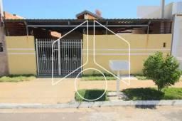 Casa à venda com 2 dormitórios em Pedro matheus, Marilia cod:V2758