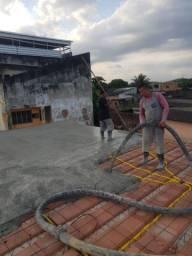 Concreto bombeado zona Oeste Rio de Janeiro