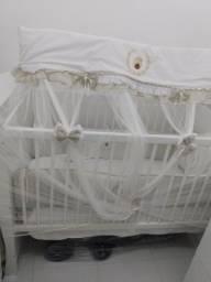 Berço cama americano em colchão 400