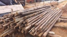 Escora de eucalipto madeira