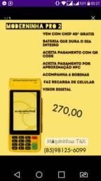 Maquininha Moderninha Pro 2 - Entrega Grátis