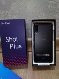 ZenFone shot plus Black 128gb