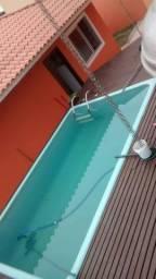 Casa com piscina no Perequê em Porto Belo para locação de temporada - Cód. 108AT