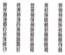 Anilhas De Marcação Alumínio 2,8mm para Canário da Terra Pack com 10 Unidades