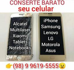 R$79,99 Aproveite HOJE e CONSERTE seu celular por preço justo. Feliz Natal