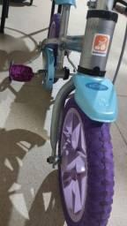 Bicicleta infantil Frozen aro 12