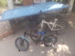 80 reais as duas bicicleta