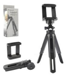Mini Tripe Celular Camera Mesa Com Regulagem Altura TriPod