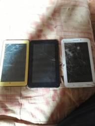 Tablet para arrumar ou retirada de peças