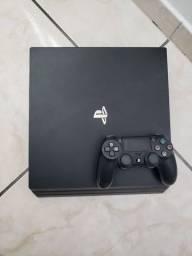 Título do anúncio: Ps4 - Playstation 4 Pro + 5 jogos