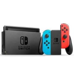 Console Portátil Nintendo Switch 2019 Wi-Fi / Bluetooth Bivolt - Vermelho / Azul