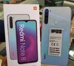 Xiaomi Redmi Note 8 - 1 ano de Garantia - Loja Física - 12x sem juros