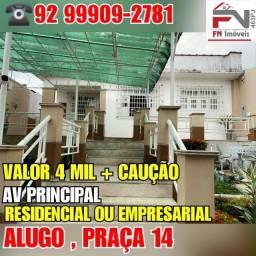 Alugo para residência ou empresas, bairro praça 14 ( consultório entre outros)