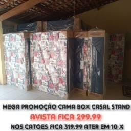 Título do anúncio: MEGA PROMOÇÃO SO ATER AMANHÃ GARANTA JA A SUA CAMA BOX COM PREÇOS APARTI DE 250