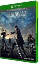 Final Fantasy XV x box one semi novo.