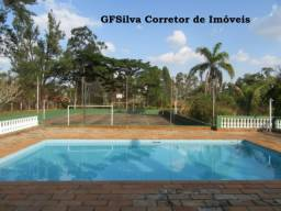 Chácara 5.920 m2 ótima renda para feriados e finais de semana Ref. 487 Silva Corretor