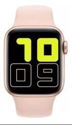 Relógio Iwo X6 Inteligente Smartwatch Faz E Recebe Chamadas (Rosa)