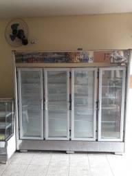 Título do anúncio: Refrigerador/expositor  vertical 4 portas