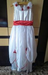 Vestido infantil para daminha casamento