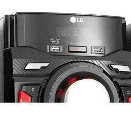 Título do anúncio: Minisystem LG XBOOM CM4350 - Bluetooth, USB, Rádio AM/FM