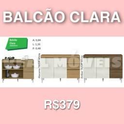 BALCÃO BALCÃO CLARA