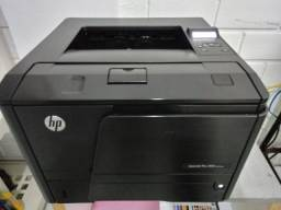 Impressora Hp Laserjet Pro 400 M401n - Conexão em REDE e USB