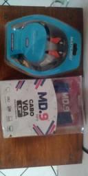 Cabo de HDMI + Cabo VGA