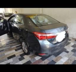 Título do anúncio: Vendo Toyota Corolla xei 2.0 ano 2017 flex automático