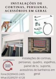 Título do anúncio: Instalação de acessórios de banheiro, torneiras, tomadas em geral