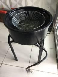 Tacho de fritura 14 litros A gás