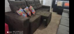 Sofa retrátil reclinável R$1499,00 avista