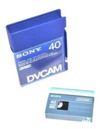 Título do anúncio: Fitas Para filmadora Sony DV Cam