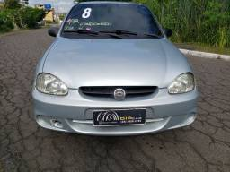 Corsa Sedan Spirit 2008 (Ar + Direção)