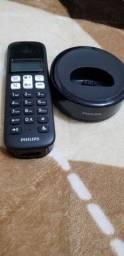 Título do anúncio: Telefone sem fio Philips, sem o cabo carregador