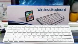 Título do anúncio: Teclado sem fio Bluetooth  Padrão Apple iMac iPad Pc Wireless windows
