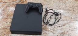 Título do anúncio: Console Playstation 4 slim, pouco uso, 500GB, controle Dualchock