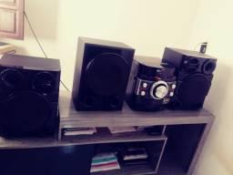 3 caixas de Som para  Mini system LG