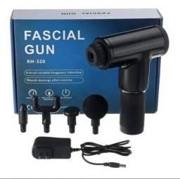 FASCIAL GUN MASSAGEADOR MUSCULAR ENTREGAMOS NA SUA CASA