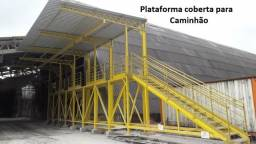Título do anúncio: Plataforma para enlonar caminhões com linha de vida ou sem