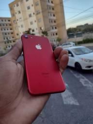iPhone 7red 128gb bateria 96%