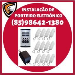 Título do anúncio: Porteiro eletrônico - Instalação de qualidade