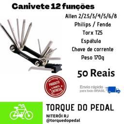 Canivete bike 12 funções