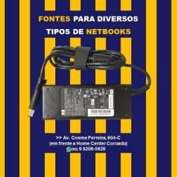 Título do anúncio: Fonte Alimentação HP Plug Grosso 18,5v