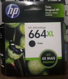 Título do anúncio: Cartucho original HP 664XL preto