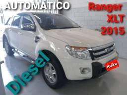 Ranger XLT 3.2 Diesel 2015 aut. 4X4 Única!!