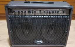 Título do anúncio: Caixa acústica Laney para violão (semi nova)